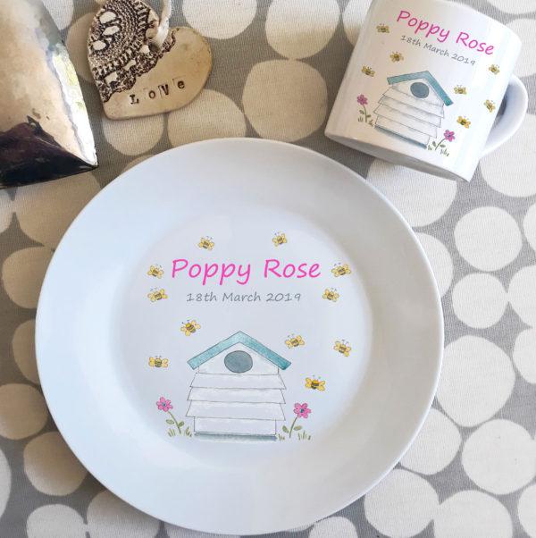 personalised dinner set