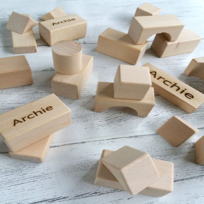 wooden personalised gifts for baby
