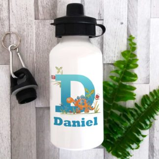 Personalised Dinosaur Bottle