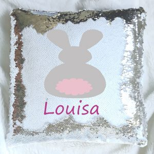 girls sequin reveal cushion