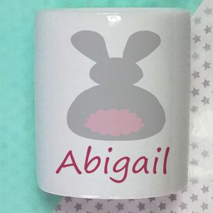 baby girls personalised money box