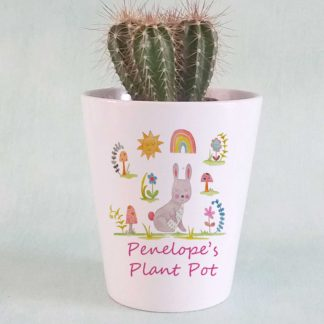 Bunny Personalised Plant Pot