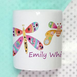 personalised money box for girl gift