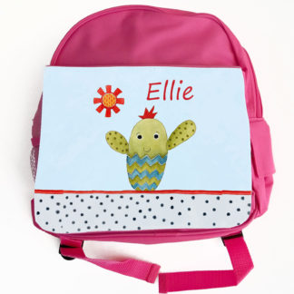 Cacti Personalised backpack