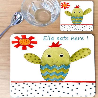 cacti table mat