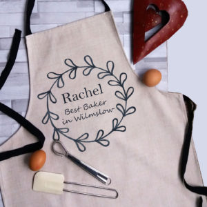 Personalised Linen Apron