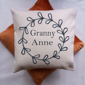 Text cushion for Gift