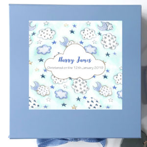 boys large keepsake box