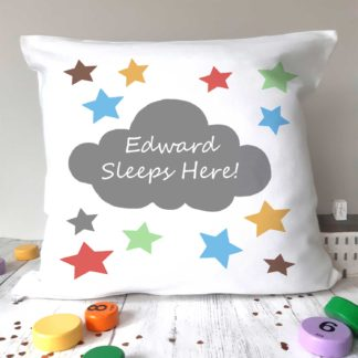 Personalised Kids Cushion