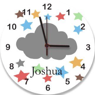 Personalised cloud Clock