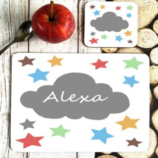 Cloud Personalised Placemat