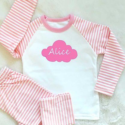 girls personalised pyjamas