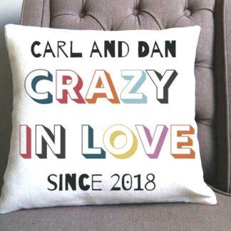 crazy in love cushion