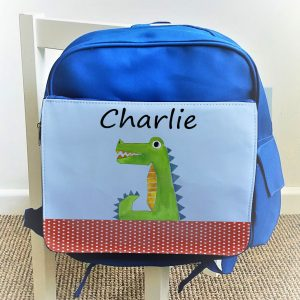 Personalised Boys School Bags