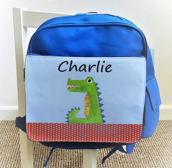 Personalised Boys School Bags