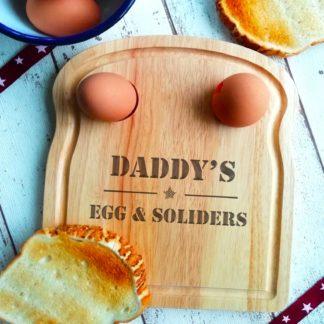 Dad's Breakfast Board
