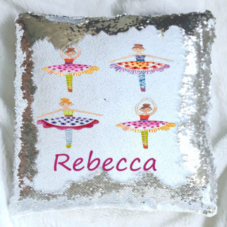 Dance Personalised Sequin Reveal Cushion