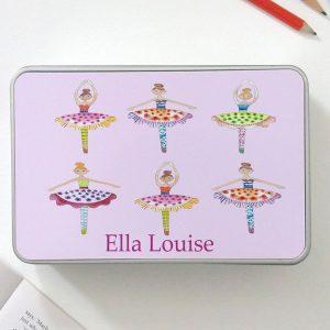 Girls Personalised Tins