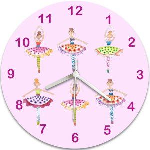 Personalised Girls Clock