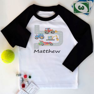 boys personalised t shirts