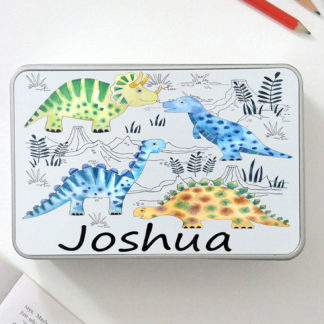 personalised dinosaur gifts