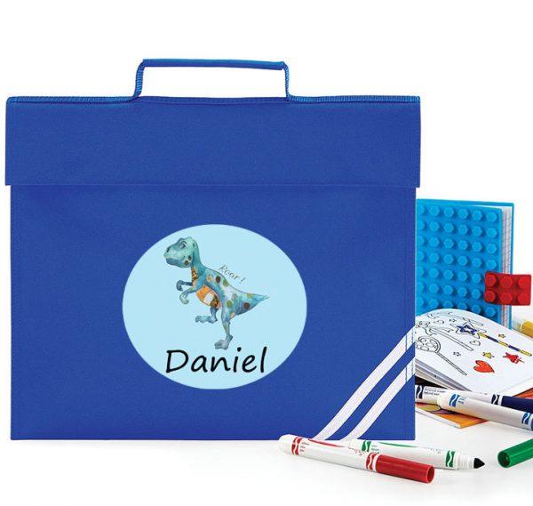 personalised book bag