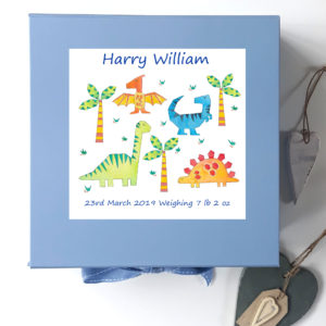 Boys Keepsake Boxes