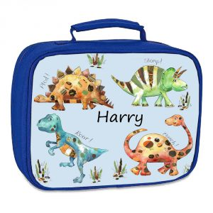 personalised school lunch bag
