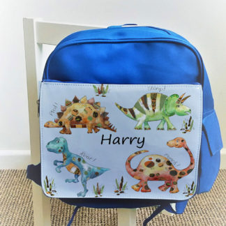 personalised boys bag