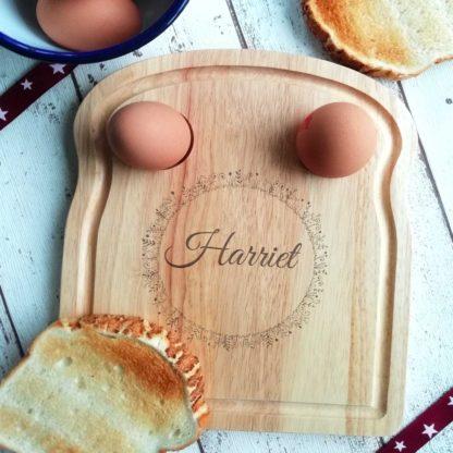 fern circle egg board