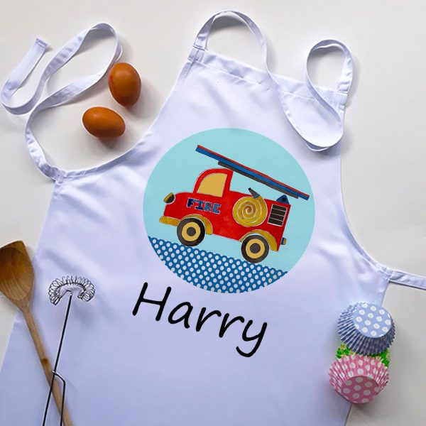 personalised boys aprons