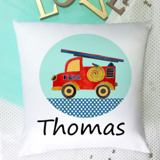 Fire Engine Cushion