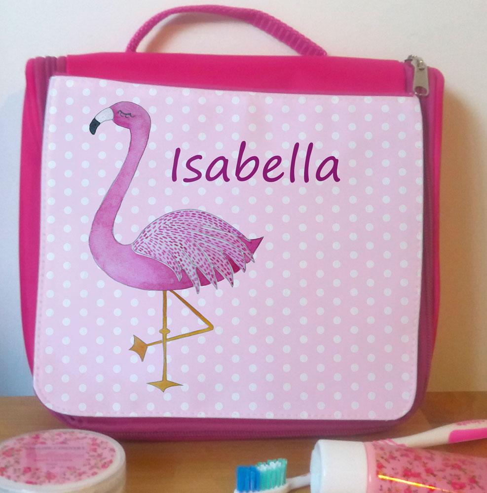 Personalised Girls Wash Bag