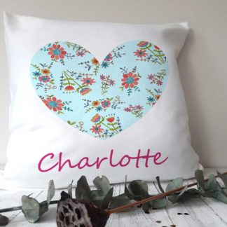 Fleur Heart Cushion
