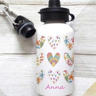 Flower Heart Bottle