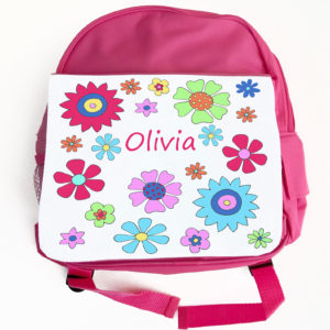 Girls Personalised Back Pack
