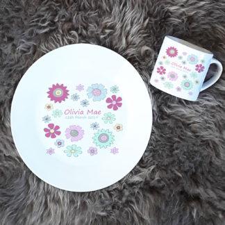 baby ceramic plate set