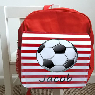 personalised boys school bag