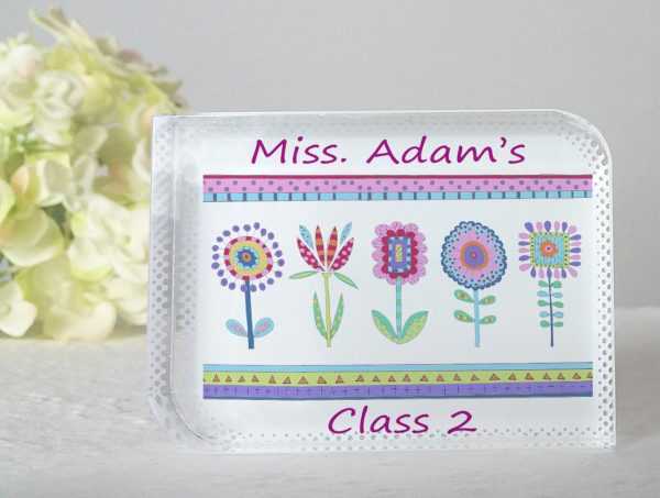 teacher personalised gift
