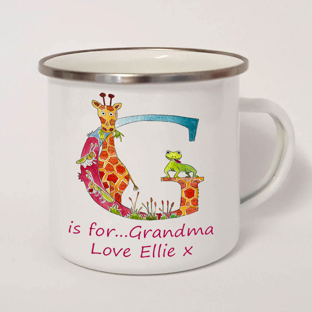 personalised enamel mugs uk