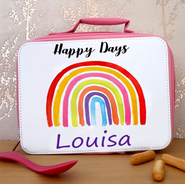 personalised girls lunch bags