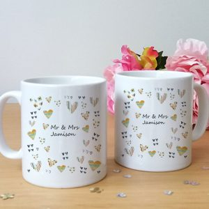 personalised wedding mugs