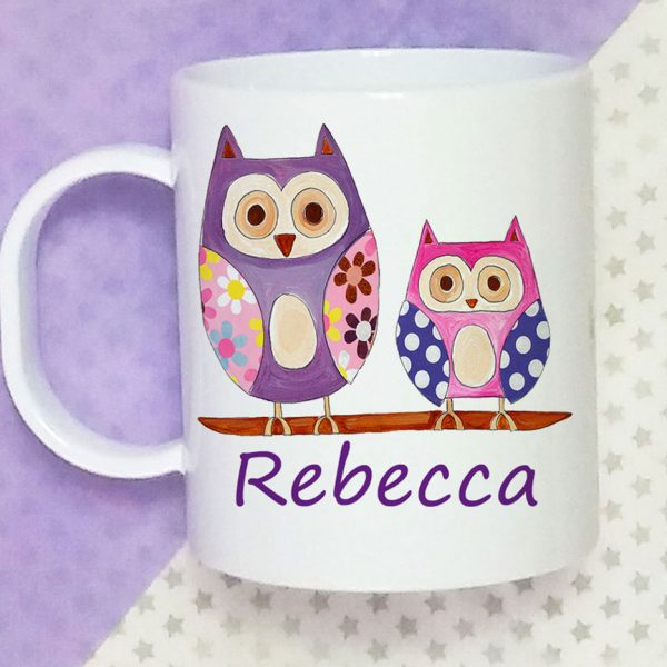 name on a cup
