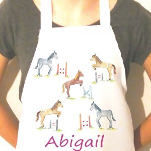 horse apron for girl