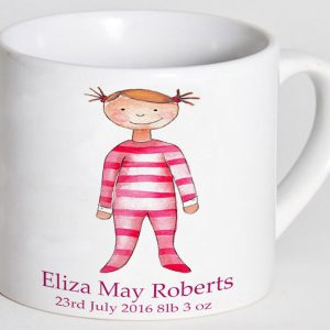 Personalised Baby Girl Cup