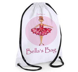 Personalised Ballet Swim Bag
