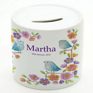 Girls Christening Money Boxes