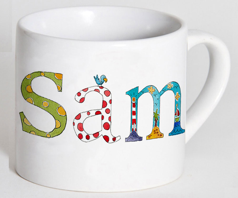 Art Décor: Nautical Personalised Cup