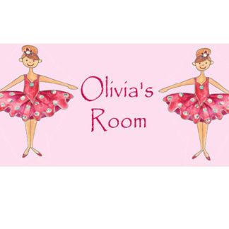 Ballet Door Signs