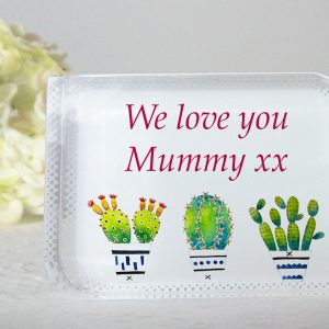 Personalised Crystal Block